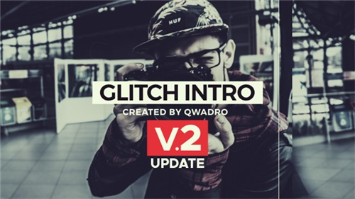 Modern Glitch Intro - After Effects Project (Videohive)