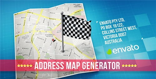 Map - After Effects Project (Videohive)