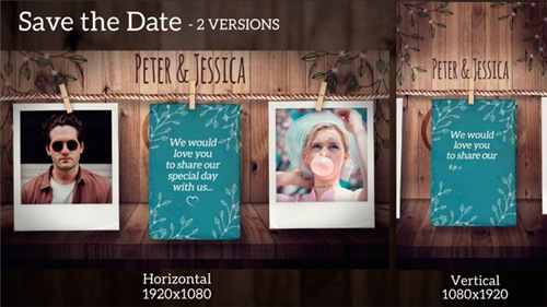 Save the Date - After Effects Project (Videohive)