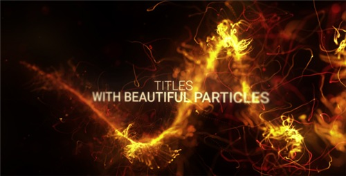 Abstract Particles Titles Trailer - After Effects Project (Videohive)
