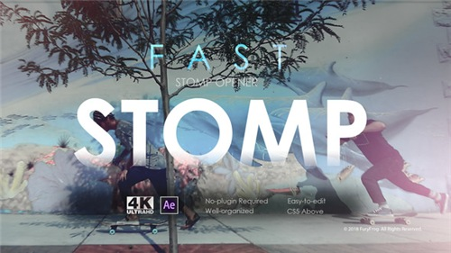 Fast Stomp Opener - After Effects Project (Videohive)