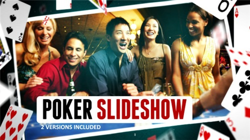Poker Gambling Cards Slideshow - After Effects Project (Videohive)