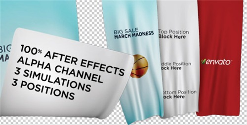 Unfolding Banners - After Effects Project (Videohive)