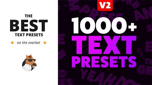 Text Preset Pack for Animation Composer - After Effects Preset (Videohive)