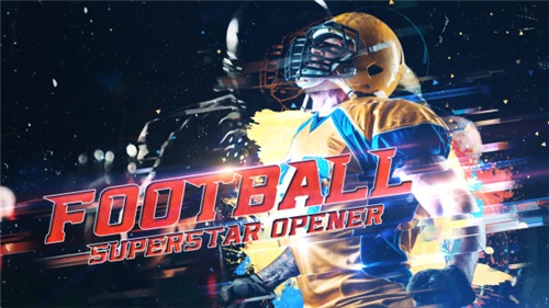 Football Superstar Opener - After Effects Project (Videohive)