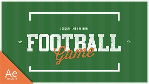 Football Game Promo - After Effects Project (Videohive)