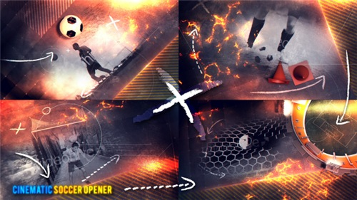 Cinematic Soccer Opener - After Effects Project (Videohive)