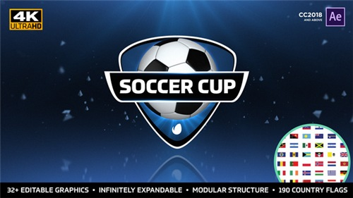 World Soccer Cup - International Soccer Package - After Effects Project (Videohive)