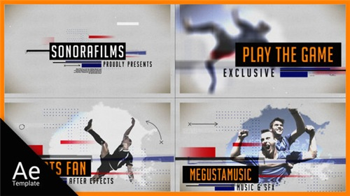 Sports Fan - After Effects Project (Videohive)