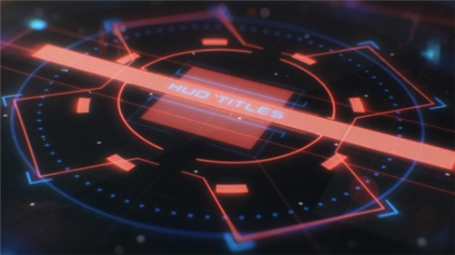 Hud Cinematic Titles - After Effects Project (Videohive)