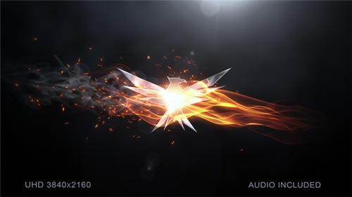 Elegant Flame Logo - After Effects Project (Videohive)