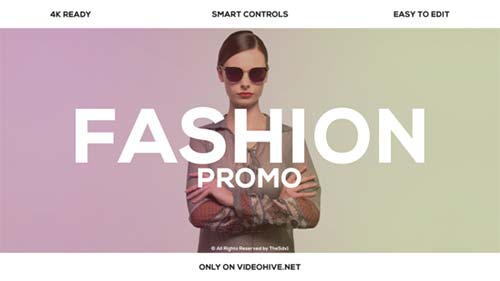 Fashion Promo 21755248 - After Effects Project (Videohive)