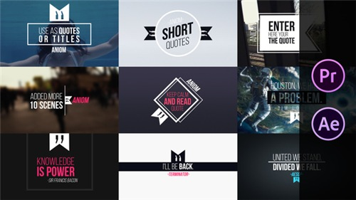 Short Quotes - After Effects Project (Videohive)