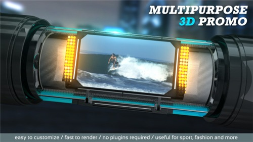 Multipurpose 3D Promo - After Effects Project (Videohive)