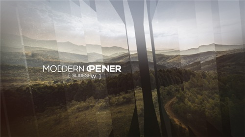 Modern Opener - Slideshow II - After Effects Project (Videohive)