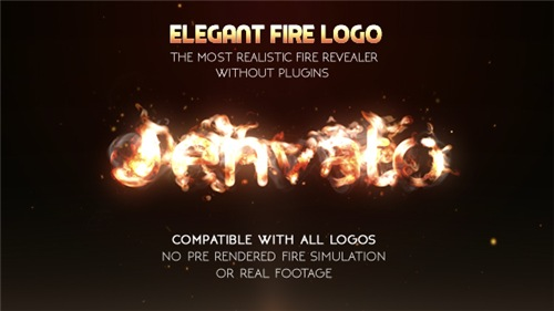 Elegant Fire Logo - After Effects Project (Videohive)