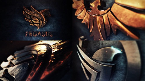 Legendary 3D Logo Reveal - After Effects Project (Videohive)
