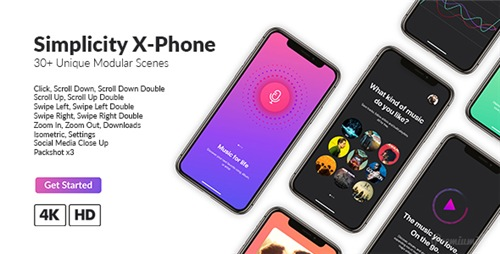 Simplicity X-Phone Promo - After Effects Project (Videohive)