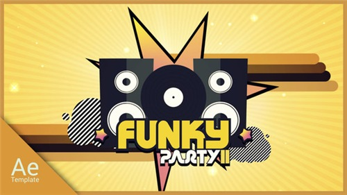 Funky Party 2 - After Effects Project (Videohive)