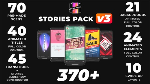 Instagram Stories 21895564 - After Effects Project (Videohive)