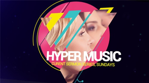 Hyper Music Festival - After Effects Project (Videohive)