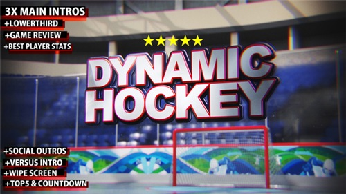 Dynamic Hockey Opener - After Effects Project (Videohive)
