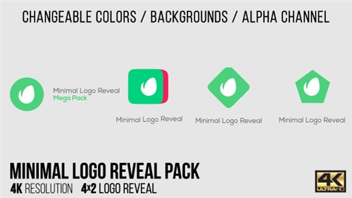 Minimal Logo Reveal Pack 15403253 - After Effects Project (Videohive)