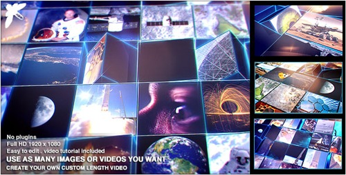 Mosaic Block Reveal - Tech - After Effects Project (Videohive)
