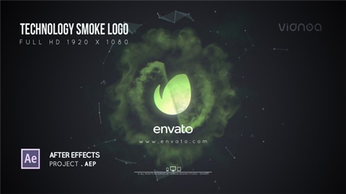 Technology Smoke Logo - After Effects Project (Videohive)