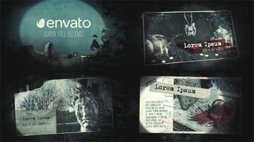 Horror Title Sequence - After Effects Project (Videohive)