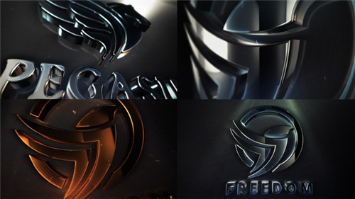 Clean Elegant 3D Logo Reveal - After Effects Project (Videohive)