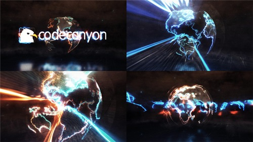 Energy Earth Logo Reveal - After Effects Project (Videohive)