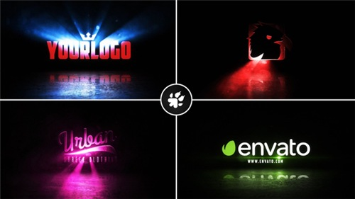 Cinematic Light Rays Logo v2 - After Effects Project (Videohive)