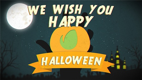 Halloween Logo - After Effects Project (Videohive)