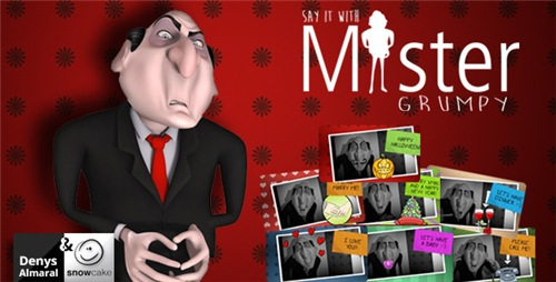 Say It With Mister Grumpy - After Effects Project (Videohive)