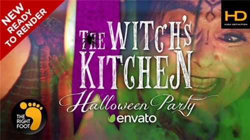 Halloween Witch's Party - After Effects Project (Videohive)