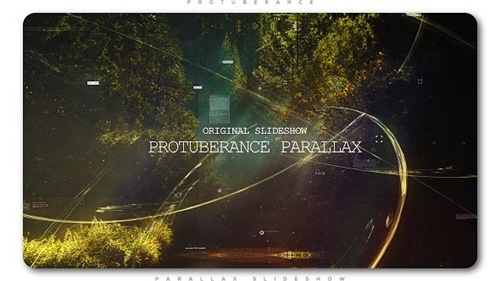 Protuberance Parallax Slideshow - After Effects Project (Videohive)