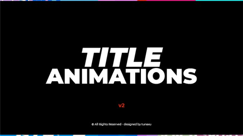 Title Animations - After Effects Project (Videohive)