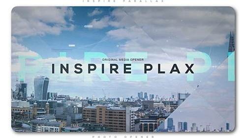 Inspire Parallax Photo Opener - After Effects Project (Videohive)