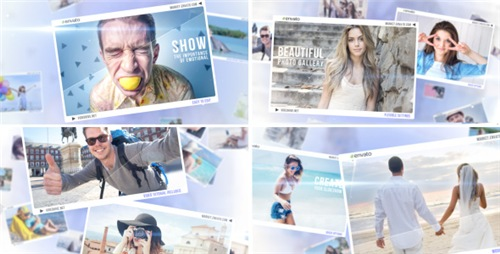 Photo Story of Memories - After Effects Project (Videohive)