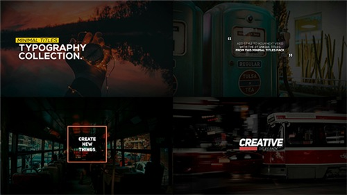 Animated Typography Pack - After Effects Project (Videohive)