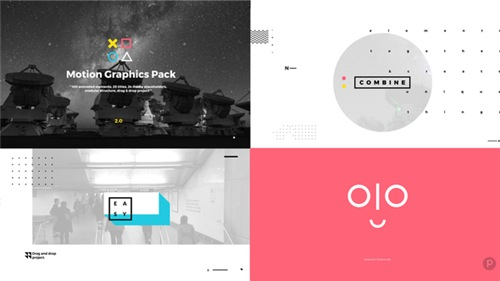 Motion Graphics Pack - After Effects Project (Videohive)