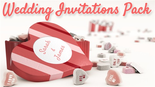 Wedding Invitations Pack - After Effects Project (Videohive)