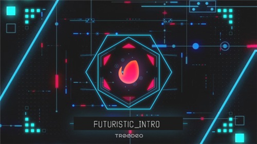 Futuristic intro - After Effects Project (Videohive)