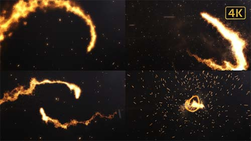 Fire Logo Cinematic - After Effects Project (Videohive)