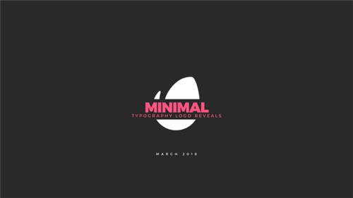 LogoTypes - Minimal Typography Logos - After Effects Project (Videohive)