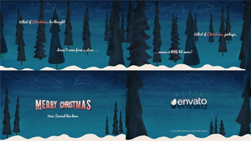 Winter Card - After Effects Project (Videohive)