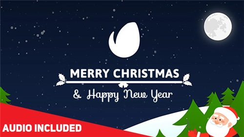 Colorful Christmas Card - After Effects Project (Videohive)