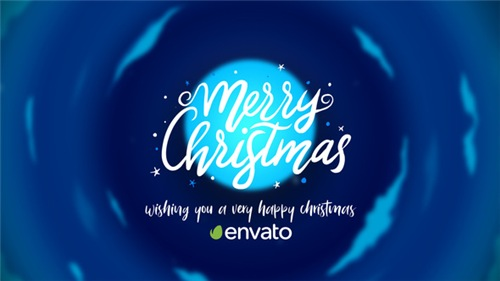 Christmas Cartoon Card - After Effects Project (Videohive)
