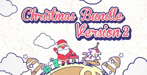 Christmas Vector Bundle v2 - After Effects Project (Videohive)